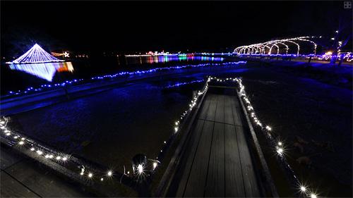 貴志川平池イルミネーション(4)